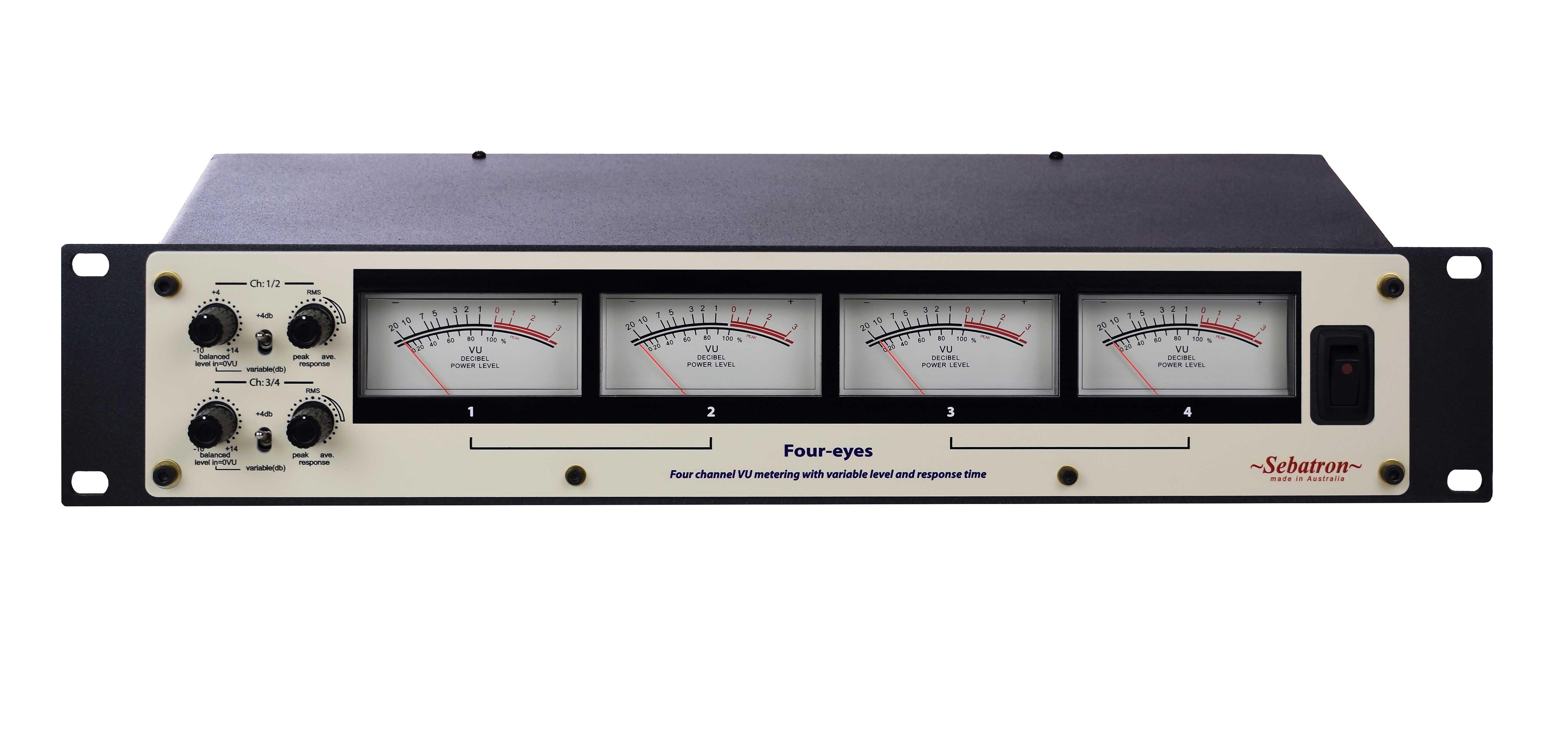 Sebatron Made In Australia Vu Meter 3 Manual Information Hi Res Photo